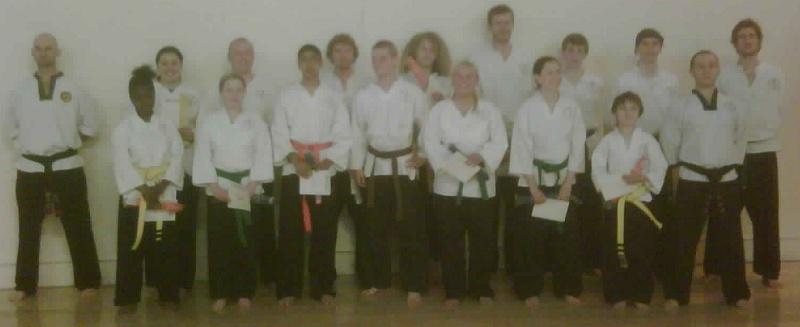 goyararu martial arts grading candidates JULY 2010