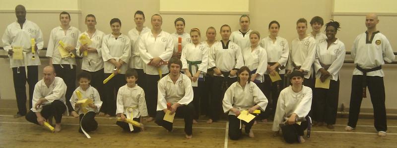 goyararu martial arts grading candidates NOV 2010
