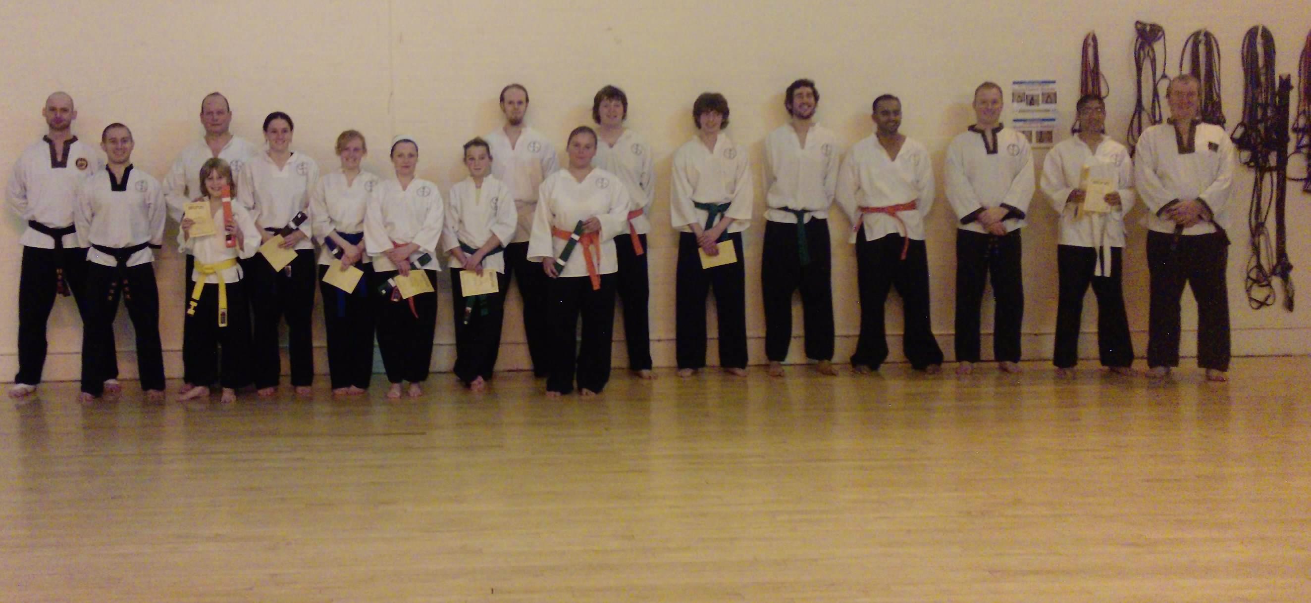 goyararu martial arts grading candidates NOV 2009